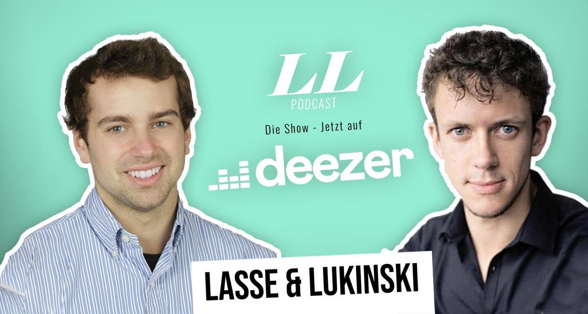 Deezer: Lasse & Lukinski Show teraz także na Deezer!