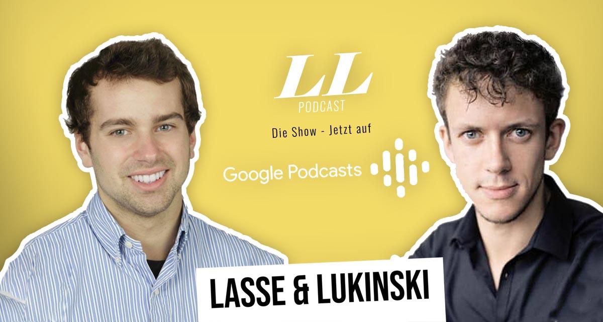 Google Podcasts: Lasse & Lukinski Show teraz także w Google!