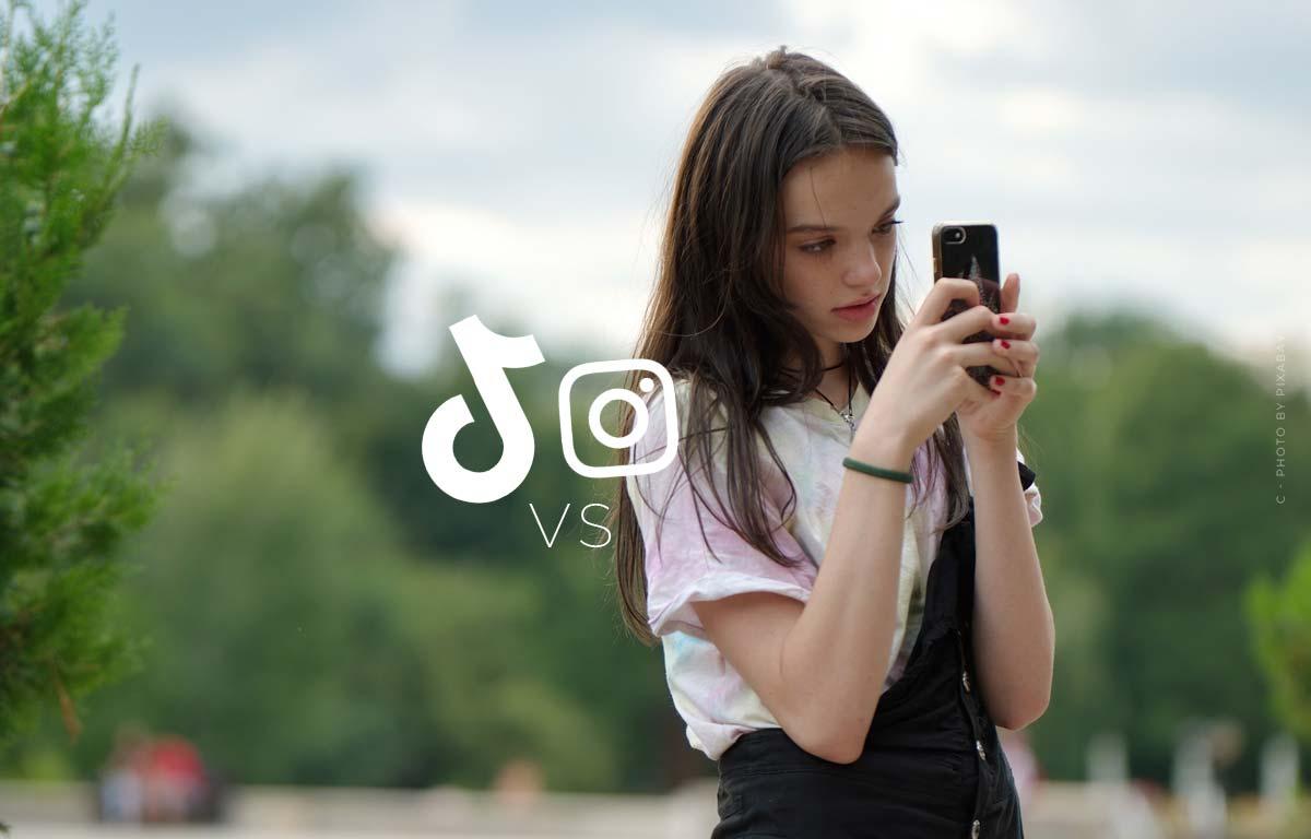 Czy Instagram boi się TikTok'a? Presja konkurencji: filmy zamiast zdjęć - aktualizacja algorytmu