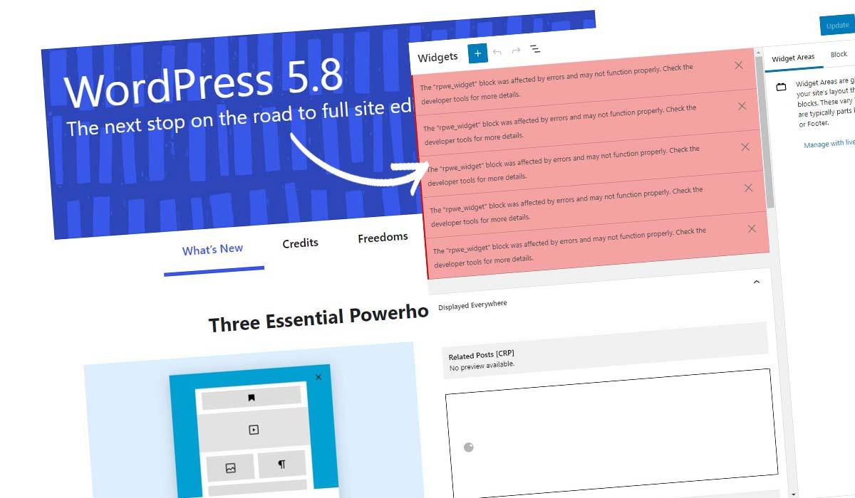Dezaktywuj Widżet bloku WordPress! Jak to zrobić w 5 sekund + instrukcje